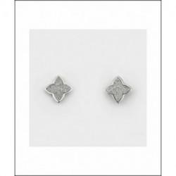 Pendientes Plata Estrella Circonitas LARRÉ PLATA
