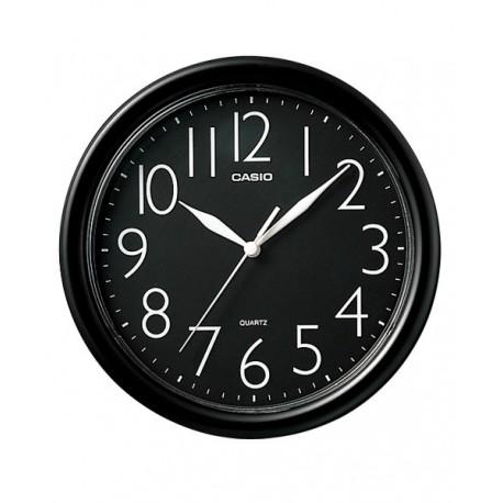 Reloj Pared barato Casio Analógico redondo negro IQ-01-1R