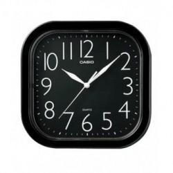 Reloj Pared barato Casio Analógico cuadrado negro IQ-02-1R