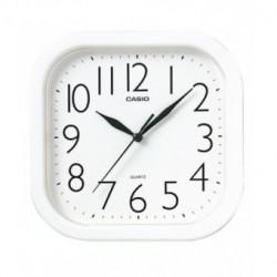 Reloj Pared barato Casio Analógico cuadrado blanco IQ-02-7R