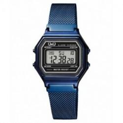Reloj retro malla azul Q&Q M173J031Y
