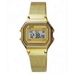 Reloj vintage dorado malla Q&Q M173J026Y