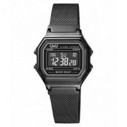 Reloj retro malla negra Q&Q M173J029Y