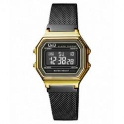 Reloj retro malla milanesa Q&Q M173J028Y