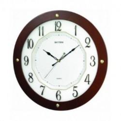 Reloj Pared de Madera Silencioso RHYTHM CMG977NR06