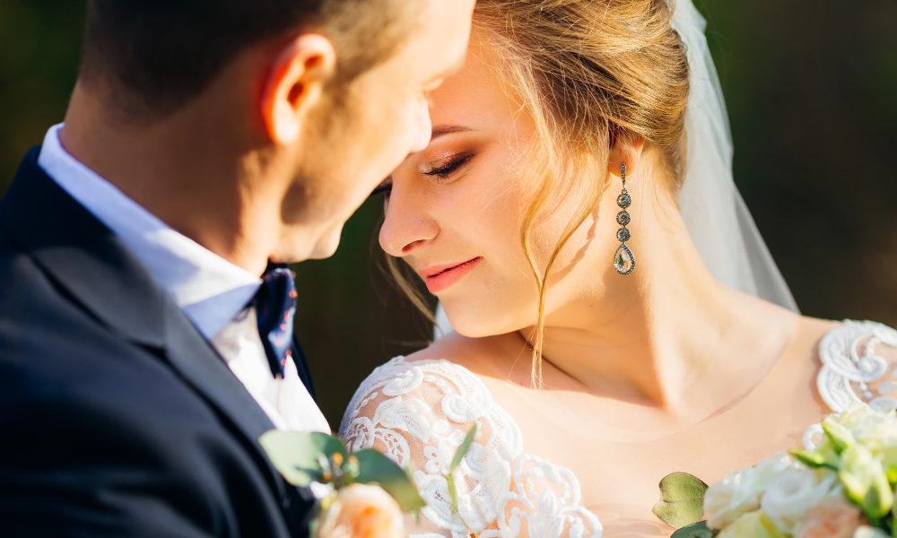 pendientes novia vestido